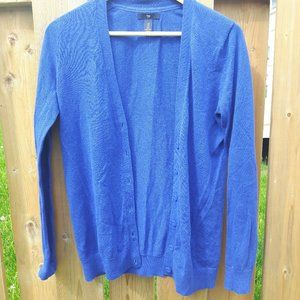 Preppy GAP Cardigan Royal Blue Small
